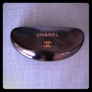 Chanel eye glass/sunglass case